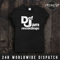Def Jam Recordings T Shirt Yeezus Kanye West Hip Hop Rap Urban