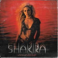CD SINGLE 2 TITRES--SHAKIRA--WHENEVER WHEREVER--2002