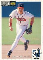 Chipper Jones 1994 Upper Deck Collector's Choice #152 Atlanta Braves Card