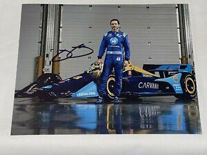 Jimmie Johnson CARVANA INDY CAR 2021 NASCAR CHAMP HOFer autographed 8x10 photo