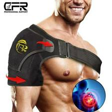 Shoulder Support Brace Neoprene Arm Belt Compression Rotator Cuff Pain Therapy
