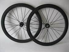 Carbon cyclocross wheels 23mm width 50mm tubeless carbon bike wheels disc brake