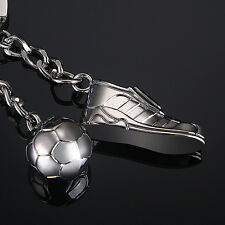 Top Selling Sports Football Shoe Football Soccer Shape Key Chain Keyring Keyfob