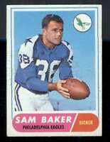 1968 Topps #32 Sam Baker VGEX Eagles 59958