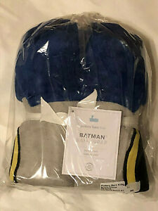 NEW Pottery Barn Kids BATMAN™ Kids Hooded Towel  NLA