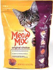 1 Bag Meow Mix 18 Oz Original Choice 100% Complete & Balanced Nutrition Cat Food