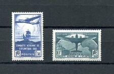 1936.FRANCIA.YVERT 320/21*.NUEVOS LEVE FIJASELLOS.(MLH).CATALOGO 395 €