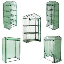 More details for greenhouse outdoor garden grow bag green house with shelves and greenhouse cover