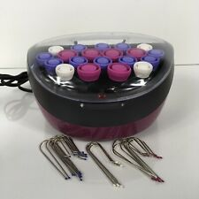 Remington H-5600 Flocked Hot Curlers Rollers With Clips Pageant Cheer