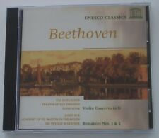 NEW  CD  Beethoven: Violin Concerto; Romance 1 & 2  Vonk  Marriner  Suk