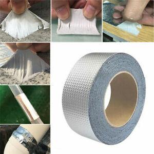 Super Strong Waterproof Tape Butyl Seal Aluminum Foil Repair Adhesive Tape NEW^^