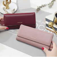 Fashion Women Large Capacity Wallet Long Purse Party Bags Purse Card Holder