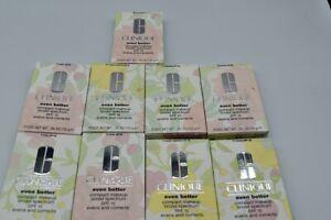 CLINIQUE Even Better  Compact Makeup SPF 15 0.35oz/ 10g (Choose Color) Full Size