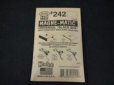 Kadee HO Scale Coupler Draft Gear Boxes - Snap-Together #242 Standard (10pr)
