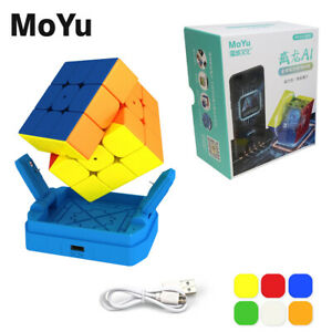 2021 MoYu Weilong AI 3x3x3 Magnetic Speed Cube Stickerless Magic Cube Toy