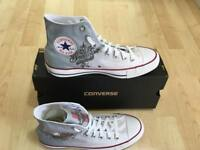 Scarpe Converse All Star Custom Harley-Davidson Logo, artigianali Made in Italy