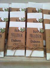 Taschentuch für Freudentränen -Give Away- Deko Hochzeit *Vintage*