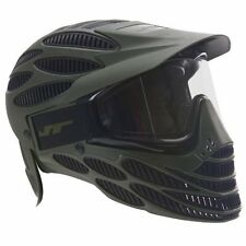 Mask with Cutting Edge Look Thermal Paintball Goggles Full Head Coverage Olive