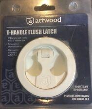 Attwood T-Handle Flush Latch 99604WW7 (WHITE)