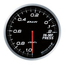 Defi-Link Meter ADVANCE BF Intake Manifold Pressure Gauge White 60 DF10101