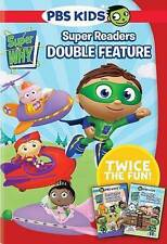 Super Why: Super Reader Double Feature (DVD, NEW, 2015 PBS KIDS, 2-Disc Set)