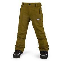 NWT Volcom Boys Datura Snowboard Pant Pants L Large 12Y Kids Moss 15K oa318