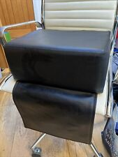 Black Salon Booster Chair Cushion Child Seat Booster Barber Haircut Hairdressing