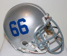 1961 Buffalo Bills Billy Shaw Custom Riddell Mini Helmet with Metal Facemask