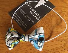 The Bow Tie Lady - Baby Bow Tie On Elastic  - Batman