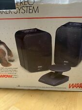 Recoton Wireless W440 900 Mhz Deluxe Stereo Speaker System