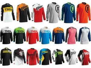 Closeout Thor MX Jersey Riding Shirt Men's Women's & Youth Sizes ATV/UTV/BMX/MTB
