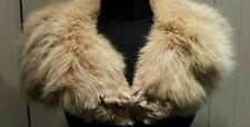 1930S Amber Fox Coat Collar