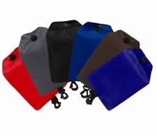 Fold Away SHOPPING BAGS 5 Colours With Pouch and Clip Tesco Asda Sainsbury's NEW