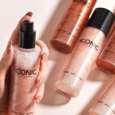 Iconic Highlighter glitter makeup spray gloss long lasting waterproof face skin