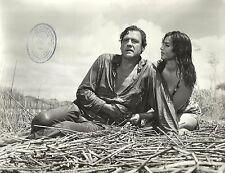"""ISABEL SARLI & ARMANDO BO in """"La Tentacion Desnuda"""" Original Vintage Photo 1966"""