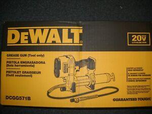 DEWALT DCGG571B 20V MAX CORDLESS GREASE GUN NEW IN BOX