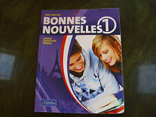 Bonnes Nouvelles 1 First Year French textbook excellent condition