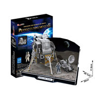 Apollo 11 Lunar Module 104 Piece NASA Space Laboratory 3D Model DIY Hobby Kit