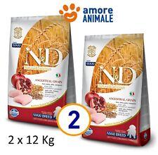 N&d Farmina Low Grain Chicken & Pomegranate Puppy Maxi