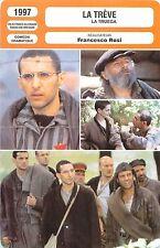 FICHE CINEMA FILM Italy-France-RFA-Suisse-GB LA TREVE /LA TRUEGA  Francesco Rosi