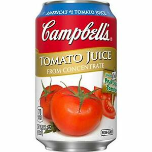 Campbell's Tomato Juice, 11.5 Ounce (Packaging May Vary)