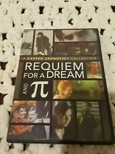 2007 Requiem For A Dream and Pi Dvd 2 Disc -Darren Aronofsky-Regn 1-*Read Below