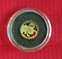 GOLD 0.5 g 2011 COIN FRANCE 5 EURO COIN 99.99% PALACE VERSAILLES PERTH MINT PURE