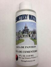 NEW AGE BOTANICA PRODUCTS GENUINE CEMETERY WATER 4 FL OZ (AGUA DE PANTEON)