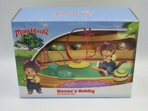 Monchhichi set accessoires HANAE HOOBY play set for figurine KIKI 2018 SILVERLIT