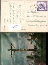 550947,3D 3-D Effektkarte Religion Kreuz Jesus am Kreuz Kreuzigung