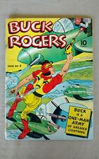 Vintage BUCK ROGERS 1940-43 #4 Comic Book Great Color Golden Age