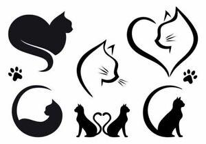 Cats Bundle  Stencil - A4/A5/A6 -  - reusable