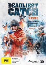 Deadliest Catch : Season 5 (DVD, 2010, 4-Disc Set) Region 4