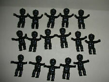 16 Black Mardi Gras/Baby Shower King Cake Babies - New!